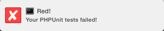 PHPUnit Failure
