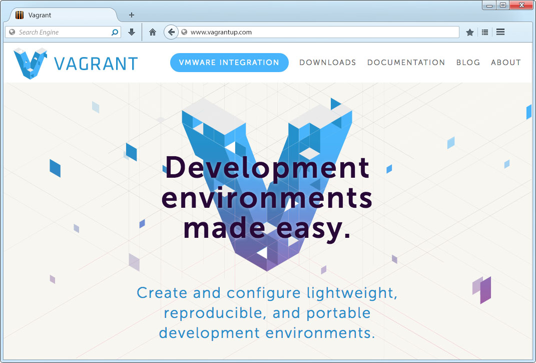 Vagrant Home Page